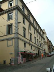 La sede centrale dell'IIS A. Meucci (Liceo Scientifico e delle Scienze Applicate)